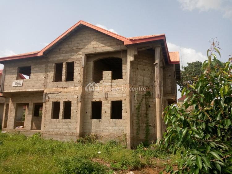Carcass 4 Bedrooms Detached Duplex, Sunshine Estate, Lokogoma District, Abuja, Detached Duplex for Sale