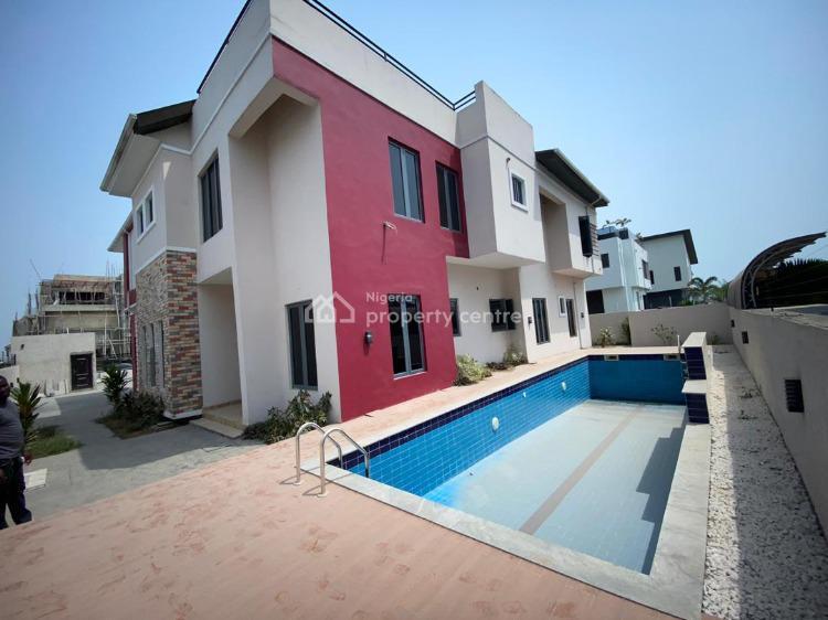 Luxurious 5 Bedrooms Detached Luxury Duplex with Swimming Pool & Bq, Pinnock Beach Estate, Osapa, Lekki, Lagos, House for Sale