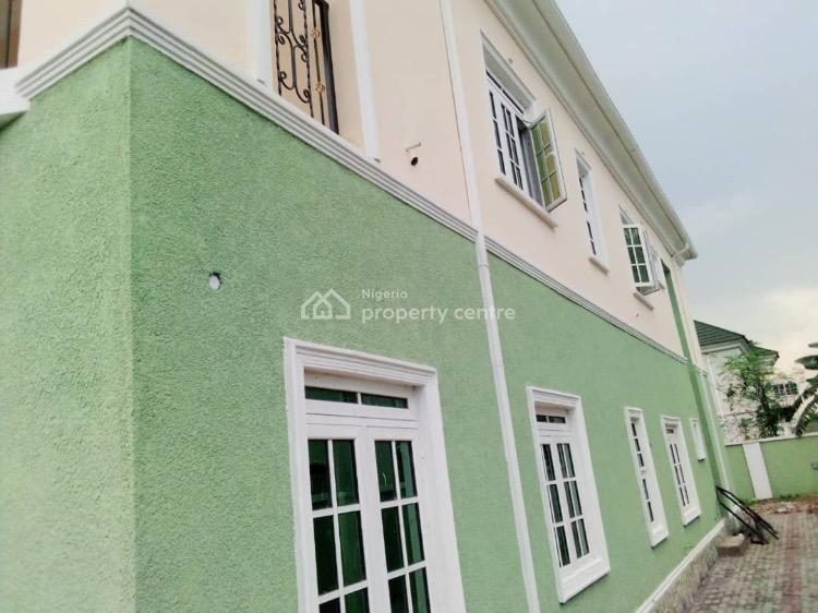 Brand New 4 Bedrooms Fully Detached Duplex with Boys Quarters, By Games Village, Close to House on The Rock Church, Garki, Abuja, Detached Duplex for Rent