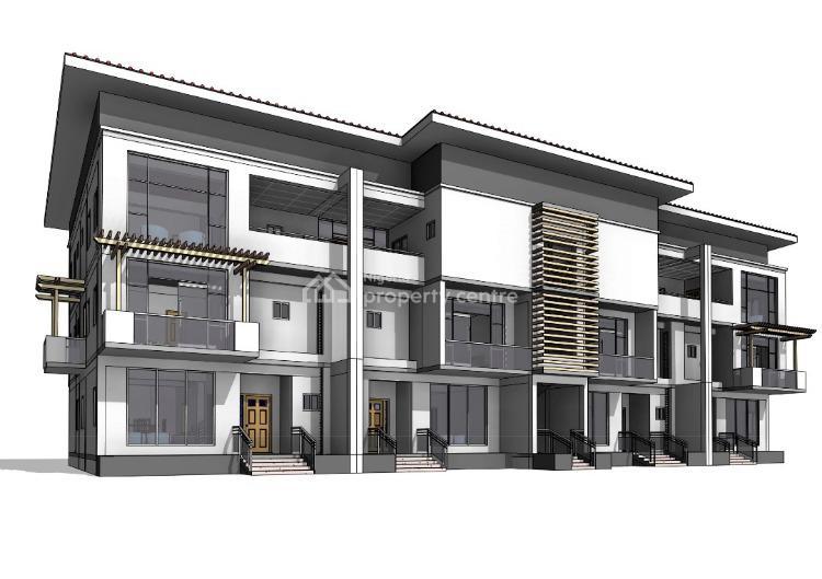 Luxury Finished 4 Bedroom Terraced Duplex, Turkish/nizamiye Hospital, Karmo, Abuja, Terraced Duplex for Sale