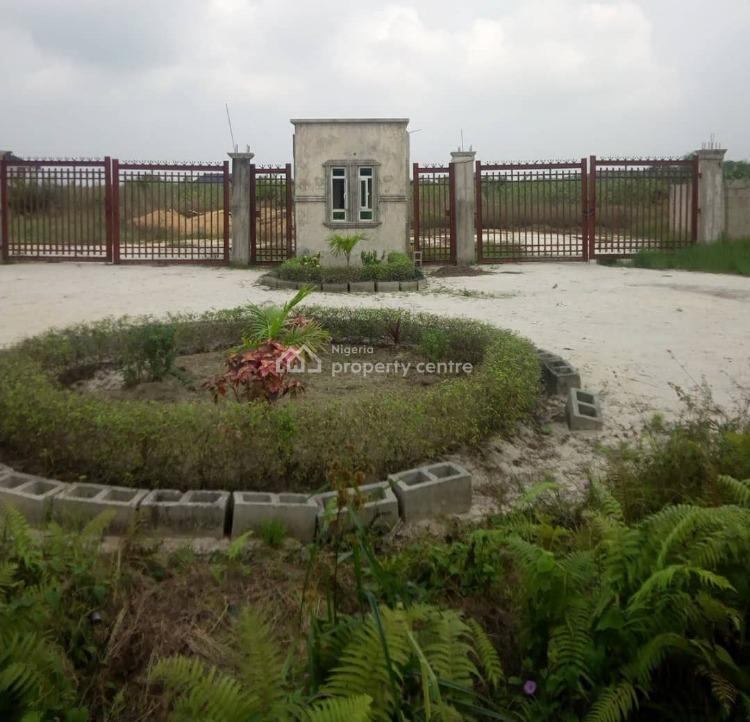 Estate Plots of Land (buy and Build), Maplewood Estate, Abijo, Lekki, Lagos, Residential Land for Sale