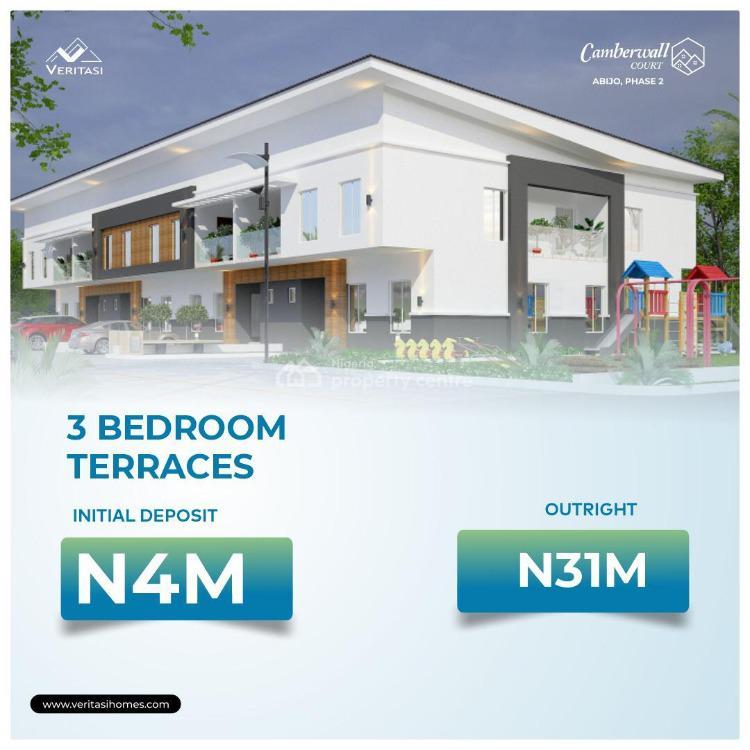 3 Bedroom Apartment in Serene Estate, Abijo Gra, Abijo, Lekki, Lagos, Terraced Bungalow for Sale