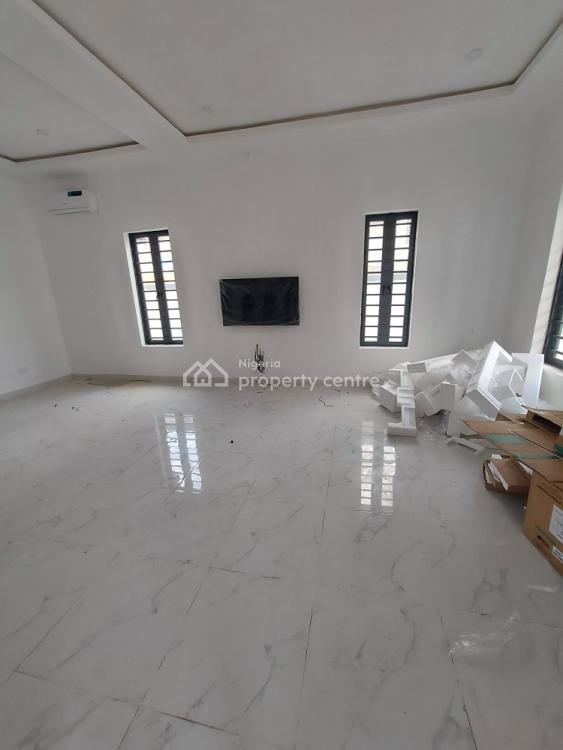 Luxury 4 Bedroom Semi Detached Duplex with a Room Bq, Chevron, Lekki, Lagos, Semi-detached Duplex for Sale
