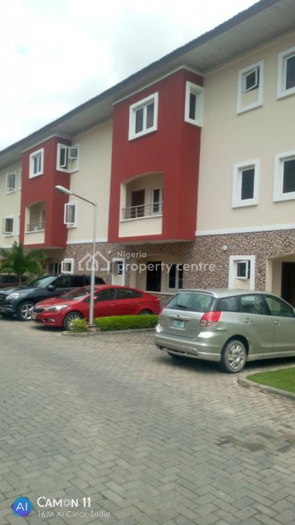 Serviced 3 Bedrooms Duplex, Canal West Estate, Osapa, Lekki, Lagos, Terraced Duplex for Rent