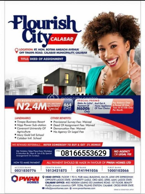 Flourish City, Calabar, Cross River, Mixed-use Land for Sale