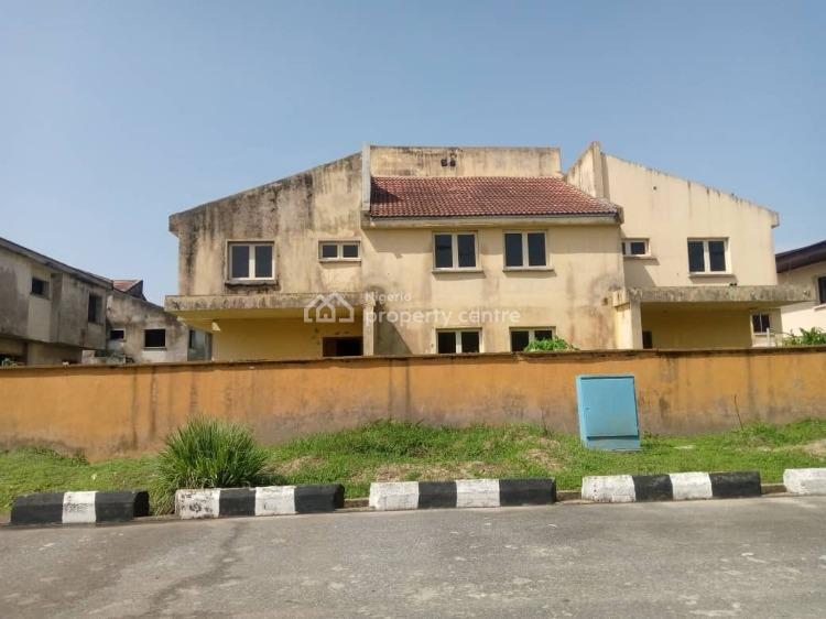 a Wing of 4 Bedroom Semi-detached Duplex with a Bq, Abijo, Ajah, Lagos, Semi-detached Duplex for Sale