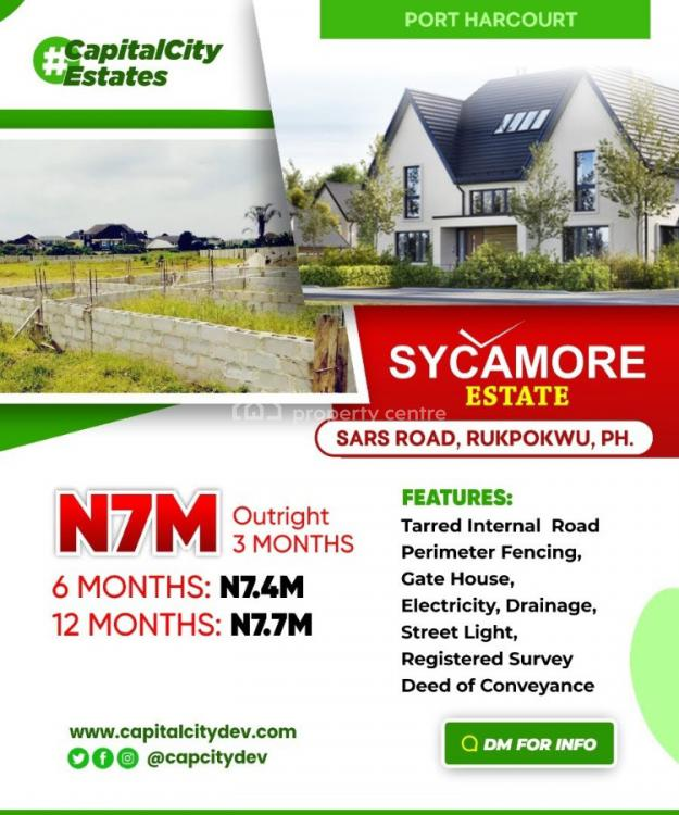 Dry Land, Sycamore Estate Sars Road Rukpokwu, Port Harcourt, Rivers, Residential Land for Sale