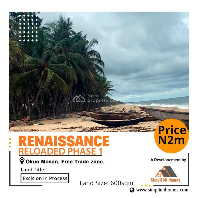 Dry Land, Renaissance Reloaded Phase 1, Okun Imosan, Ibeju Lekki, Lagos, Mixed-use Land for Sale