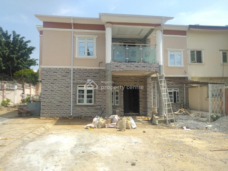 Spacious 5 Bedrooms Duplex with 1 Bedroom Guest Chalet, Inside The Legislative Quarters, Apo, Abuja, Semi-detached Duplex for Rent