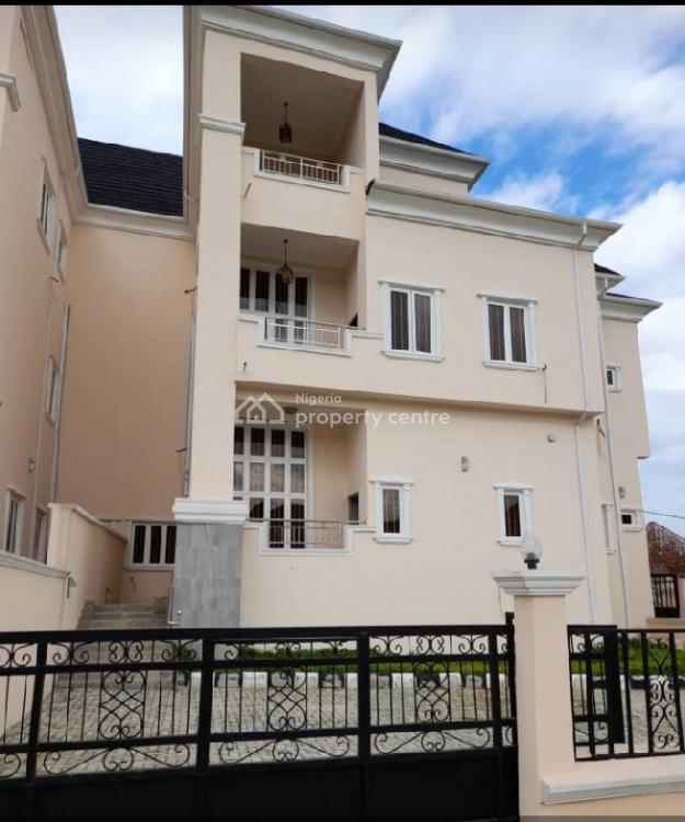 Newly Built 5 Bedroom Duplex with a Bq, Guzape District, Abuja, Semi-detached Duplex for Sale