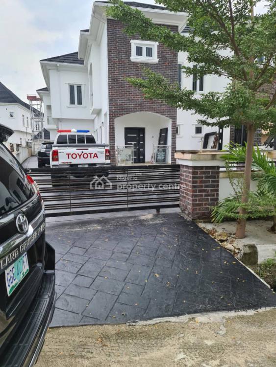a Massively Built 5 Bedroom Semi Detached Duplex with a Bq, County Homes Estate, Ikota, Lekki, Lagos, Semi-detached Duplex for Sale