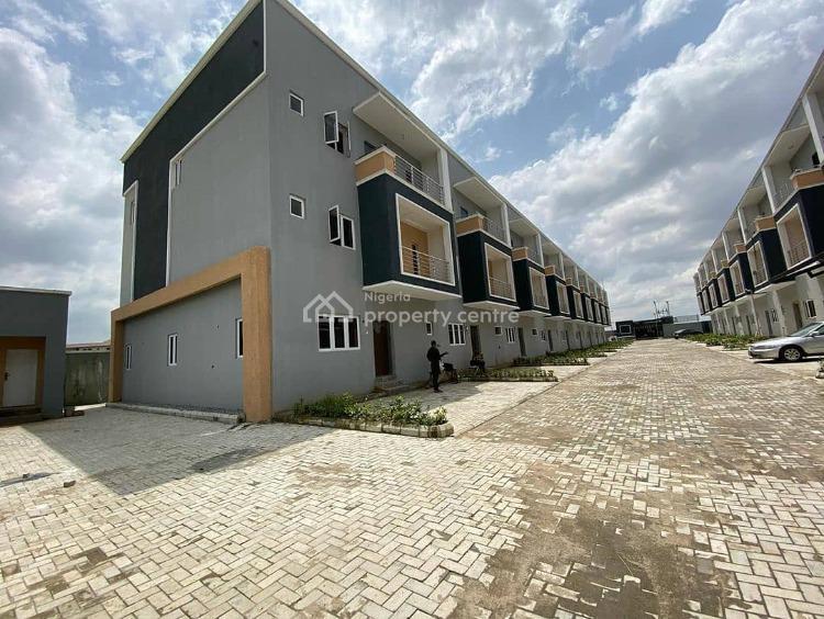 4 Bedroom Terrace Duplex with 2 Living Rooms, Jahi, Abuja, Detached Duplex for Sale