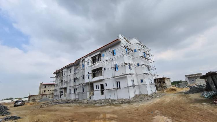 Affordable Custom Built 3 Bedroom Apartment in Premium Location, Off Monastery Road, Behind Novare Mall Shoprite, Sangotedo, Ajah, Lagos, Flat / Apartment for Sale