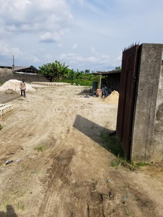 Fenced 3 Plots of Land, Nta - Choba Road By Sympathy Junction, Port Harcourt, Rivers, Commercial Land for Sale