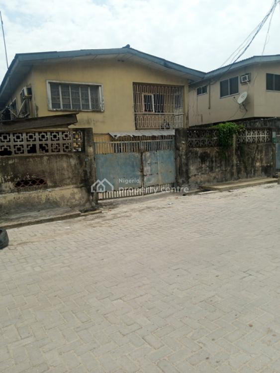 a Front Wing 4 Bedrooms Duplex & 2 Nos 3 Bedrooms Flat Behind, Census Close, Off Babs Animashaun, By Bode Thomas, Surulere, Lagos, House for Sale