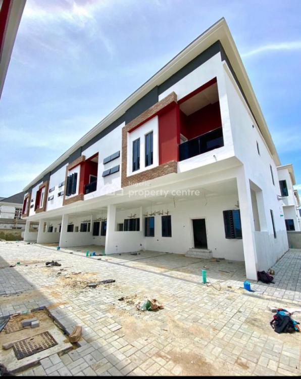 Massive 4 Bedroom Terrace Duplex, Chevron, Lekki Phase 2, Lekki, Lagos, Terraced Duplex for Sale
