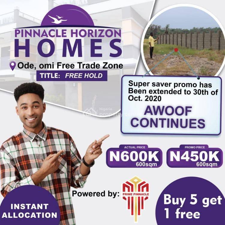 Become a Landlord and Secure Your Future, The Pinnacle Horizon Estate, Ibeju Lekki, Lagos, Mixed-use Land for Sale