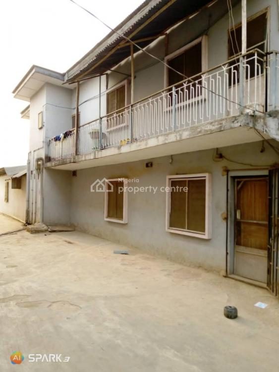 11 Flats on One and Half Plot of Land in a Serene Environment, Okunola, Egbeda, Alimosho, Lagos, Semi-detached Duplex for Sale