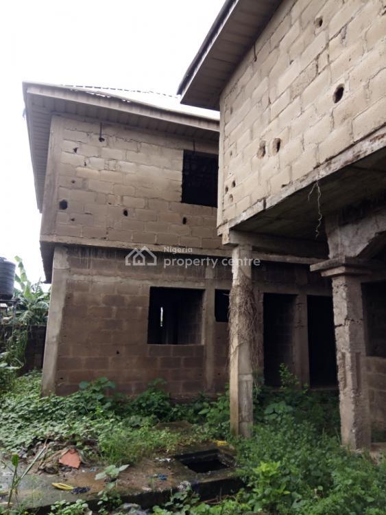 Uncompleted Nice 2 Bedroom and Miniflat, Directly Facing The Orimerunmu-ibafo Road, Jabutu, Papa, Orimerunmu, Ibafo, Ogun, Flat for Sale