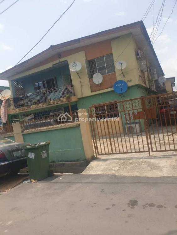 Nice Block 4 Flats of 3 Bedroom Flats, Off Enitan Road, Aguda, Surulere, Lagos, Block of Flats for Sale