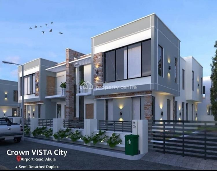 Luxury 4 Bedroom Semi Detached Duplex, Crown Vista City, Abuja, Central Business District, Abuja, Semi-detached Duplex for Sale