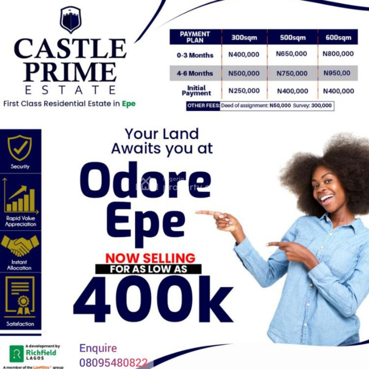 Registered Survey, Odore, Epe, Lagos, Residential Land for Sale