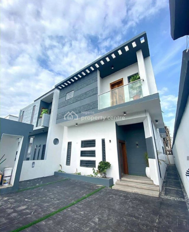 Luxury, Exotical Newly En-suite 4 Bedroom Semi Detached with a Bq., Chevron 2nd Toll Gate, Lekki, Lagos, House for Sale