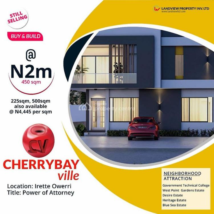 Luxurious Affordable Land in The East, Technical College Irette, Nekede, Owerri, Imo, Residential Land for Sale
