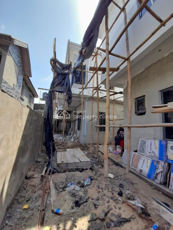 Newly Built Luxury 4 Bedrooms Semi Detached Duplex with Lovely Feature, Osapa, Lekki, Lagos, Detached Duplex for Sale