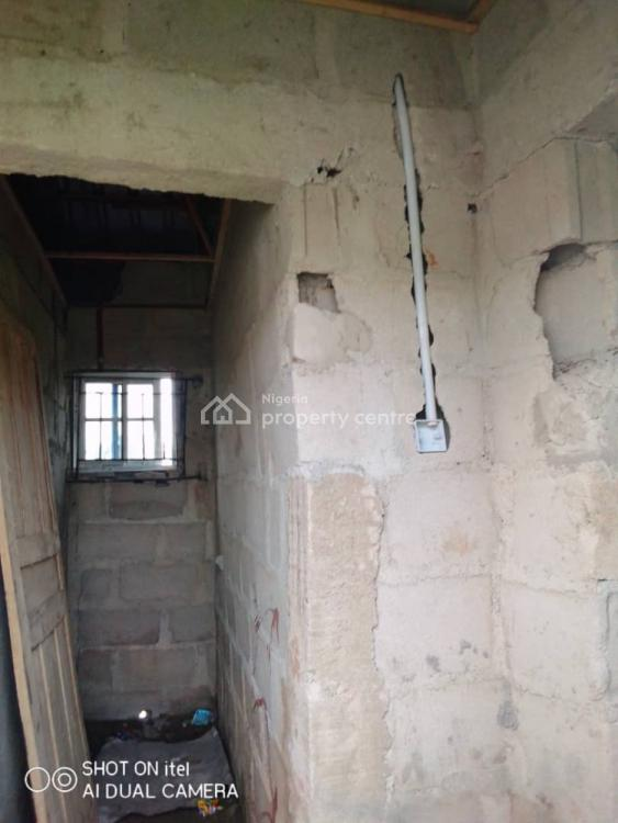 2 Unit of 1 Bedroom Detached Bungalow, No 72,agunfoye Road Igbogbo, Igbogbo, Ikorodu, Lagos, Detached Bungalow for Sale
