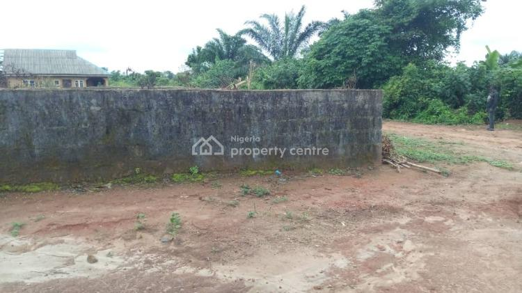 a Plot of Land with at a Corner Piece Area with Uncompleted 2 Bedroom, 4th Avenue Isiu, Igbogbo, Ikorodu, Lagos, Mixed-use Land for Sale