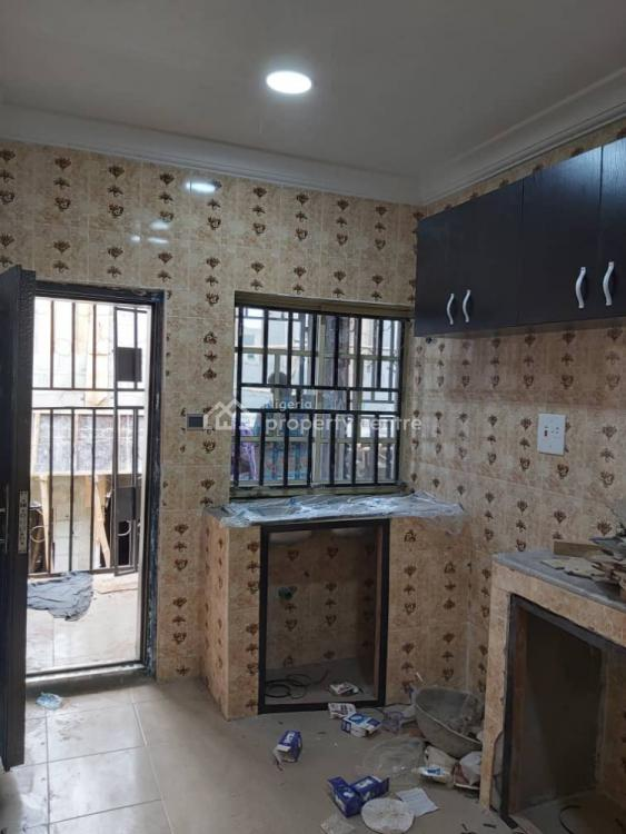 Newly Built N Nicely Finished 3 Bedrooms, Ifako, Gbagada, Lagos, Flat for Rent