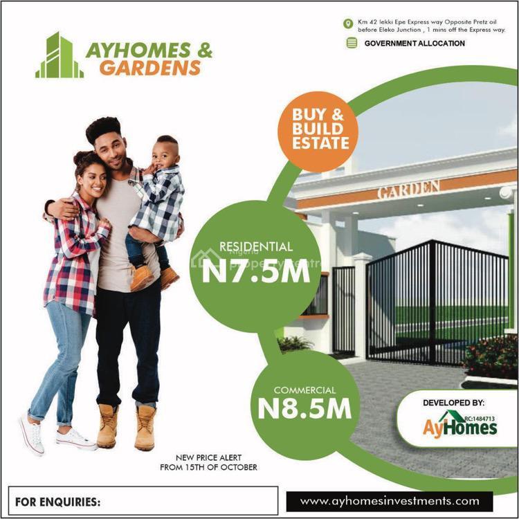 Land with Government Allocation, Igando Orudu, Ibeju Lekki, Lagos, Mixed-use Land for Sale