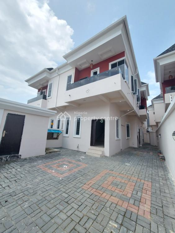 Finely Finished 4 Bedroom Semi Detached Duplex with a Room Bq, Osapa, Lekki, Lagos, Semi-detached Duplex for Sale