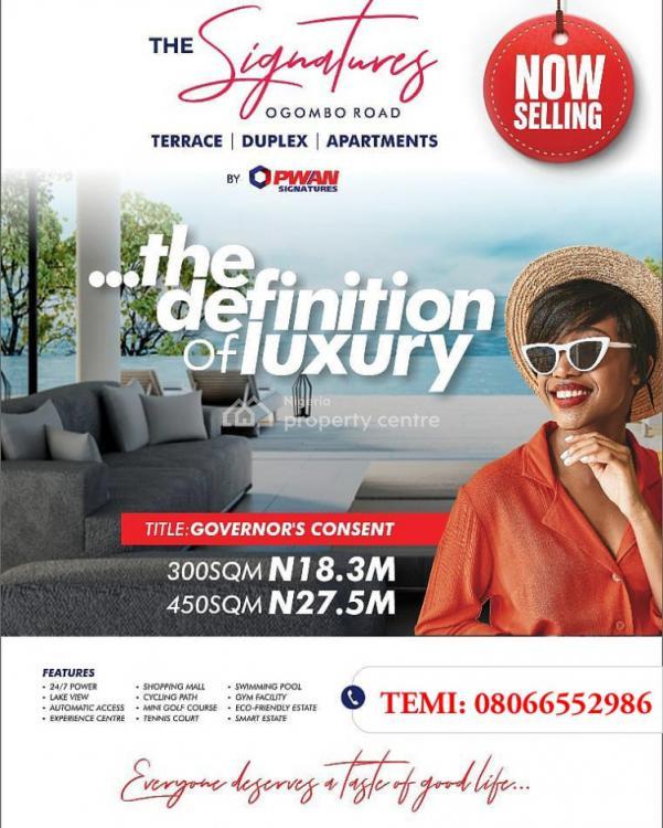 Serviced Plot of Land, at The Signature Estate, Abraham Adesanya Road, Ogombo, Ajah, Lagos, Mixed-use Land for Sale
