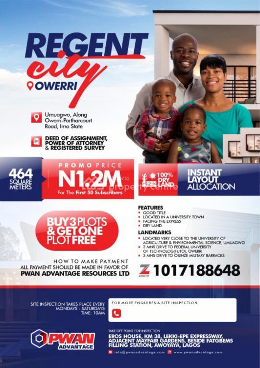 Dry Land, Regent City,, Ohaji/egbema, Imo, Mixed-use Land for Sale