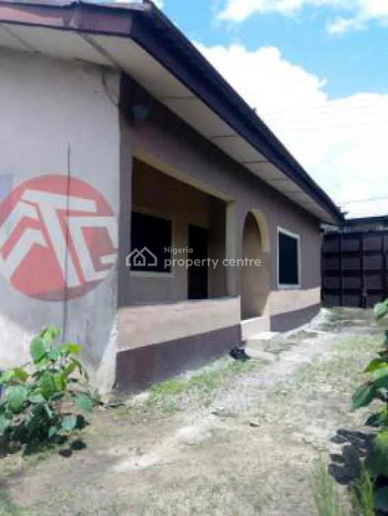 Furnished Two Bedroom Flat, No 9, Chinda Street, Off Agip, By Ada-george Junction, Mile 4, Rumueme, Port Harcourt, Rivers, Semi-detached Bungalow for Sale