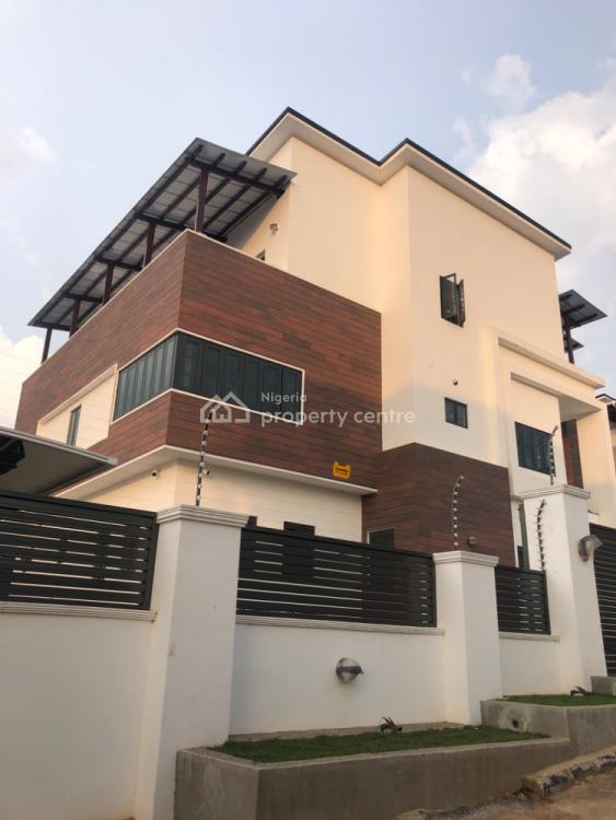 Ultramodern 5 Bedroom Edifice with Smart Features, Guzape District, Abuja, Detached Duplex for Sale