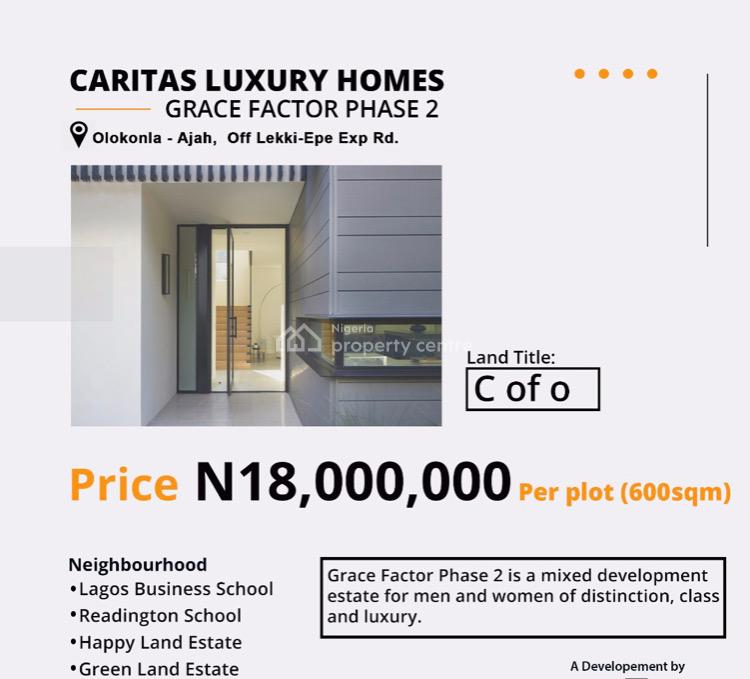 Lovely Affordable Dry Land Within an Estate, Olokonla, Ajah, Lagos, Mixed-use Land for Sale
