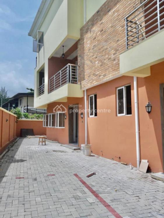 Newly Built and Well Finished 4 Bedroom Terrace with a Room Bq & Study, Old Ikoyi, Ikoyi, Lagos, Terraced Duplex for Rent