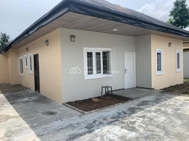 Newly Built and Well Finished 2-bedroom Detached Bungalow, Off 2nd Artillery Bus Stop, Rumuogba, Port Harcourt, Rivers, Flat for Rent