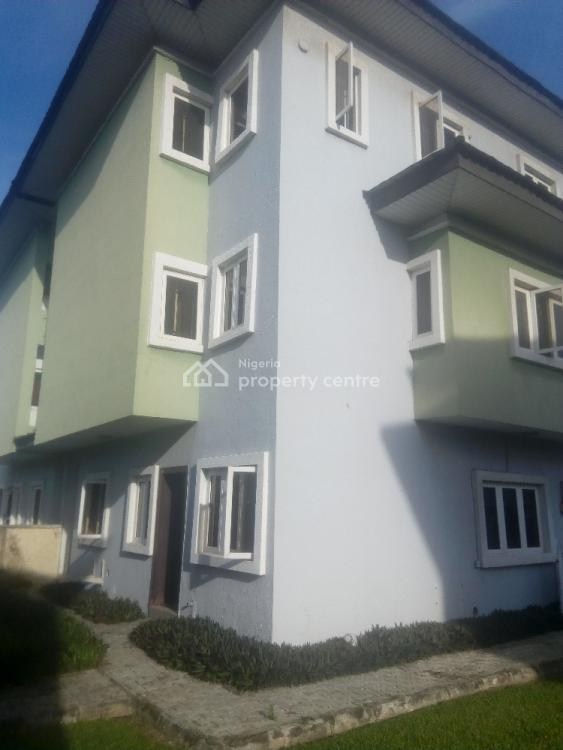 4 Bedroom Semi Detached House with Bq, Osapa London Estate By Shoprite, Osapa, Lekki, Lagos, Semi-detached Duplex for Sale