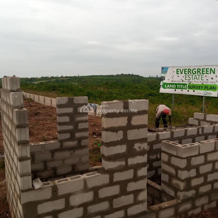 Freehold + Survey, Evergreen Estate, Odo-egiri, Epe, Lagos, Mixed-use Land for Sale