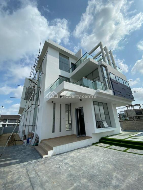 5 Bedrooms  Detached Duplex House with Excellent Finishing+bq+swimming, Located at Jakande By Circular Shoprite, Jakande, Lekki, Lagos, Detached Duplex for Sale