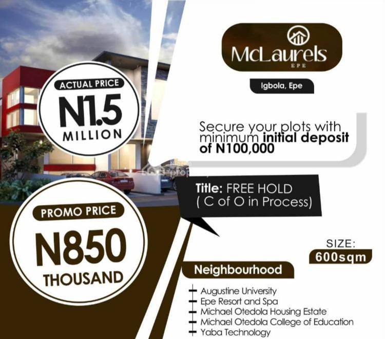 Affordable Land, Igbola, Epe, Lagos, Mixed-use Land for Sale