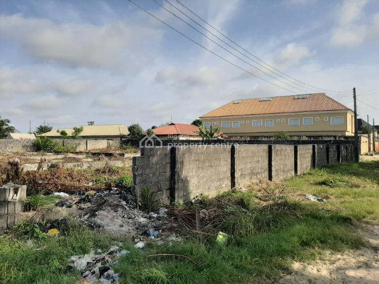 Fenced Corner Piece 2 Plots of Land Close to Road, Elesekan Estate, Bogije, Ibeju Lekki, Lagos, Residential Land for Sale
