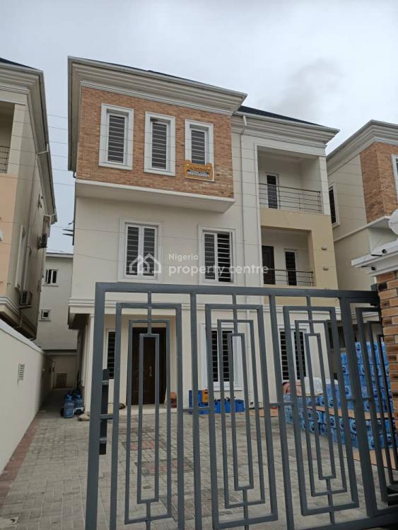 Newly Built 5 Bedrooms Detached Duplex with Bq in Mini Estate, Off Kunsela, Ikate, Lekki, Lagos, Detached Duplex for Sale