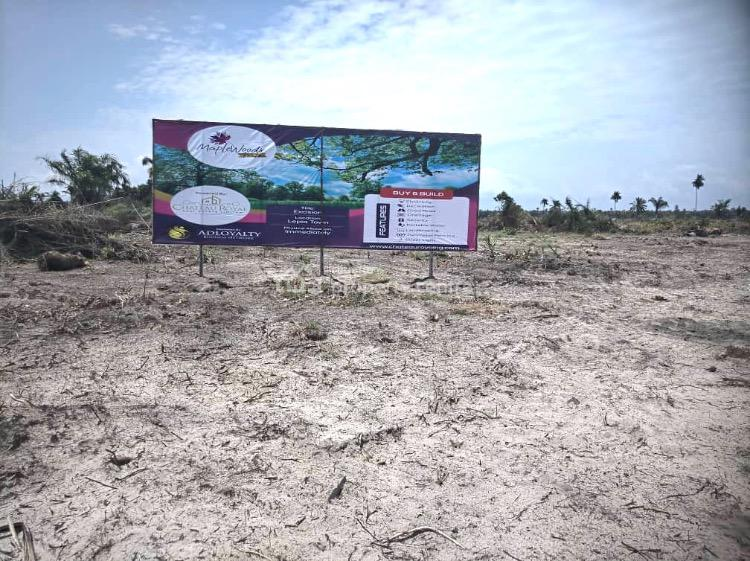 Earn Over N2m in a Govt Approved 100% Dry Land, Maplewoods Forte, Lepia Town, Ibeju Lekki, Lagos, Residential Land for Sale