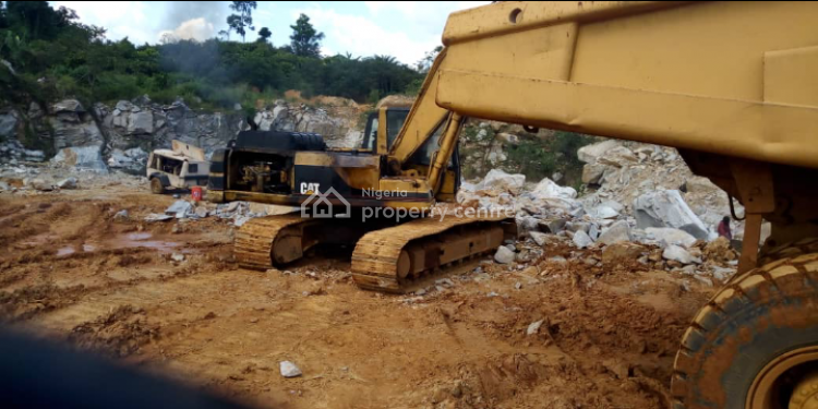 Standard Functioning Quarry, Akure, Ondo, Factory for Sale