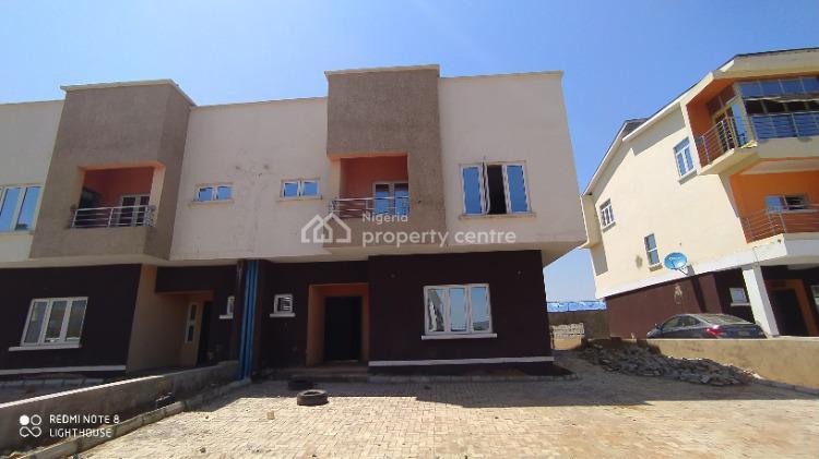 Spacious 4 Bedroom Duplex with Attached Bq, Off Idu Train Station Road Karmo, Mbora (nbora), Abuja, Semi-detached Duplex for Sale
